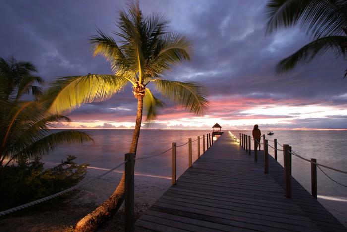 Vinylová Tapeta Sen ostrov - Prázdniny