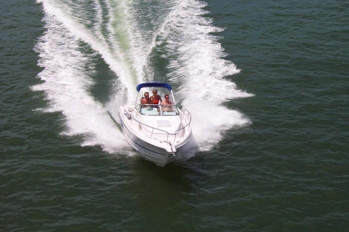 Vinylová Tapeta Rekreační lodní doprava 4 - Vodní sporty