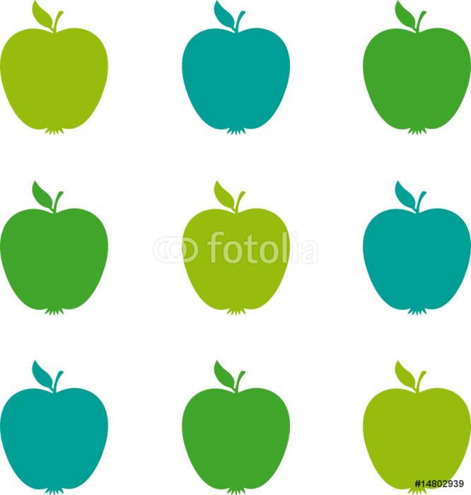 Äpfel grün