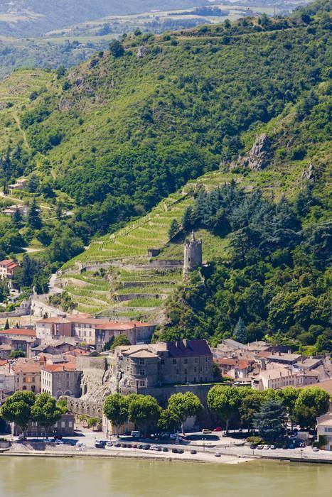 Vinylová Tapeta Tournon-sur-Rhone, Rhone-Alpes, Francie - Evropa