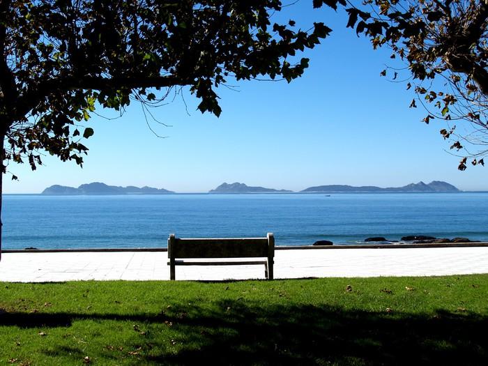 Vinylová Tapeta Islas Cies - Ostrovy
