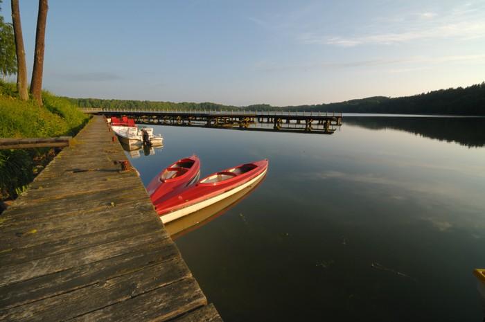 Vinylová Tapeta Jezero v Mazury regionu Polsko - Prázdniny