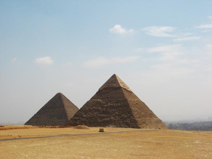 Vinylová Tapeta Velké egyptské pyramidy - Afrika