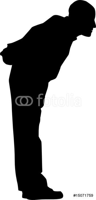 Mann (Silhouette)