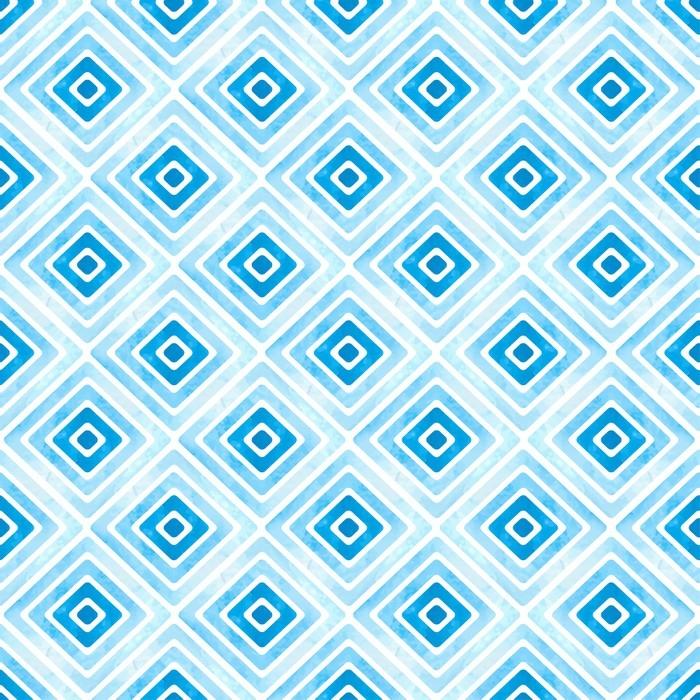 papier peint motif g om trique bleu sans soudure texture de losange aquarelle vecteur fond. Black Bedroom Furniture Sets. Home Design Ideas