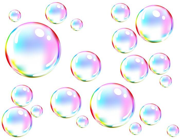 Vinilo Pixerstick Vector De Las Burbujas De Jab 243 N De Colores Pixers 174 Vivimos Para Cambiar