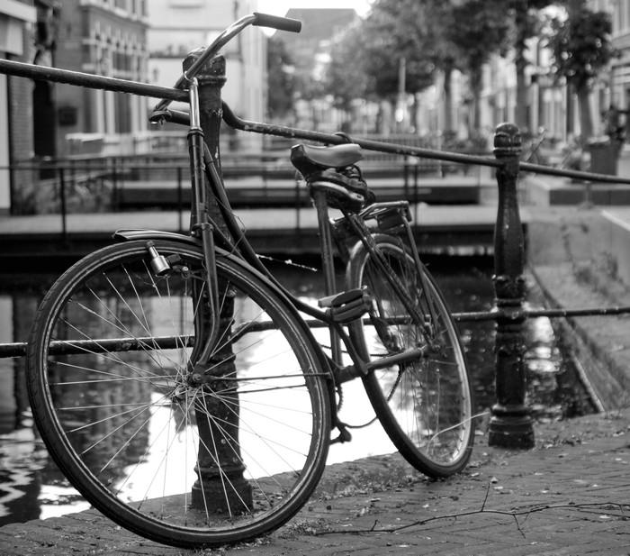 Aufkleber altes fahrrad stadt pixers wir leben um zu for Fahrrad minimalistisch