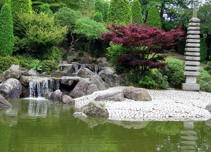 Sticker jardin japonais pixers nous vivons pour changer for Acheter jardin japonais