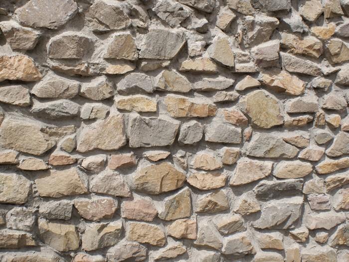 papier peint brun et gris mur de pierre pixers nous vivons pour changer. Black Bedroom Furniture Sets. Home Design Ideas