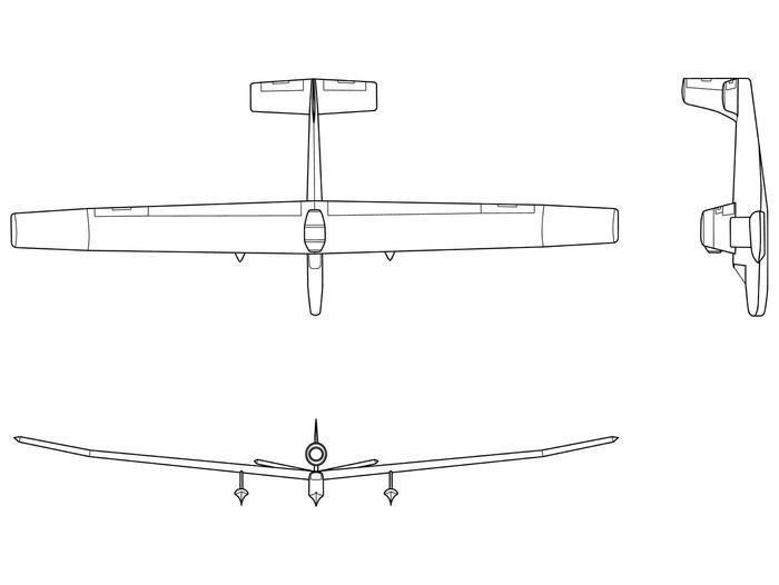 Nálepka Pixerstick Single místo tryskový pohon plovákový letoun - Vzduch