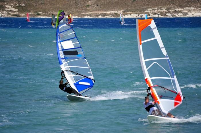 Vinylová Tapeta Windsurfing v Alacati, Cesme, Turecko - Evropa