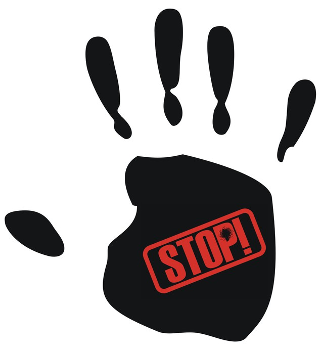 Obraz na Płótnie Stop przemocy - Inne uczucia