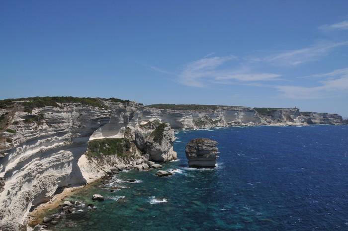 Fototapete Falaises De Bonifaccio, Corse   Planen Sie Groß.