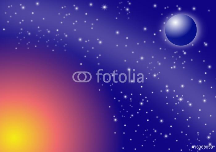 Vinylová Tapeta Pianeta - Meziplanetární prostor