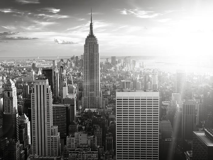 Carta da parati skyline di new york pixers viviamo for Carta da parati new york ebay