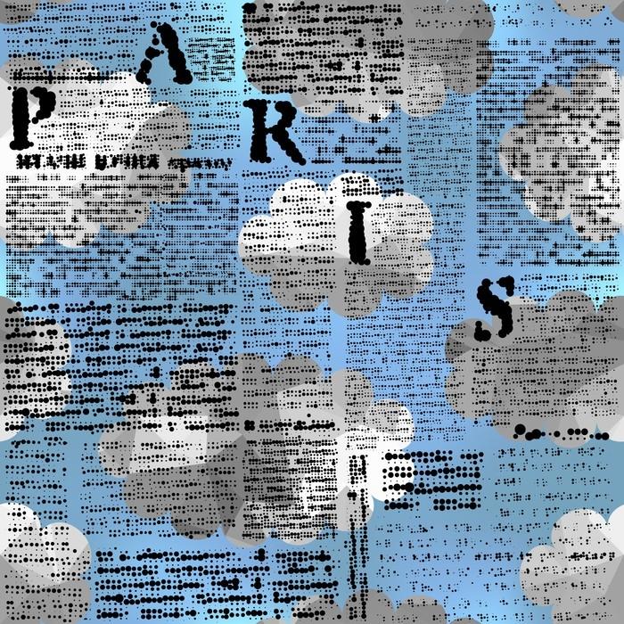 Papel pintado patr n de fondo transparente imitaci n de for Papel pintado periodico
