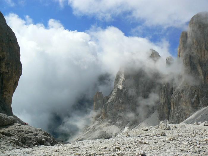 Papier Peint à Motifs Vinyle Di Pale San Martino - Montagne
