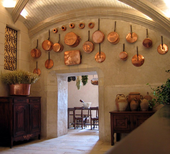 Tableau sur Toile Cuisine médiévale -