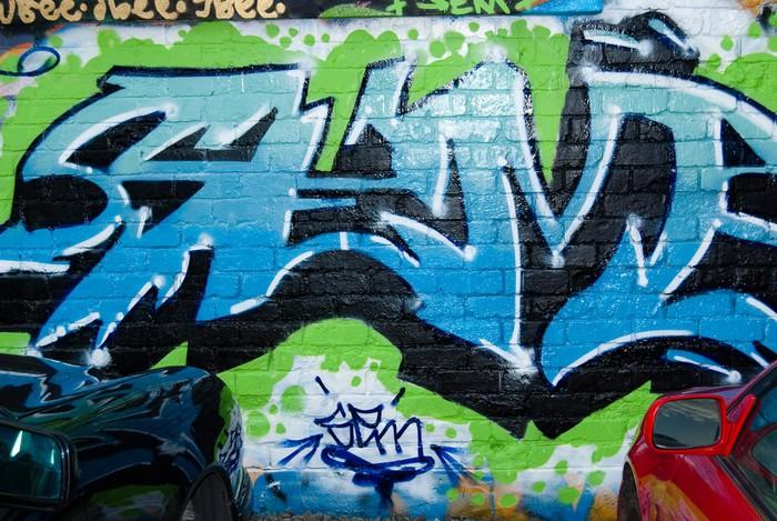 Vinylová Tapeta Abstract Urban graffiti - Témata