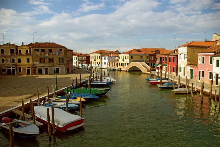 Vinylová Tapeta Murano - nádherné benátský ostrov, Benátky, Itálie - Evropská města