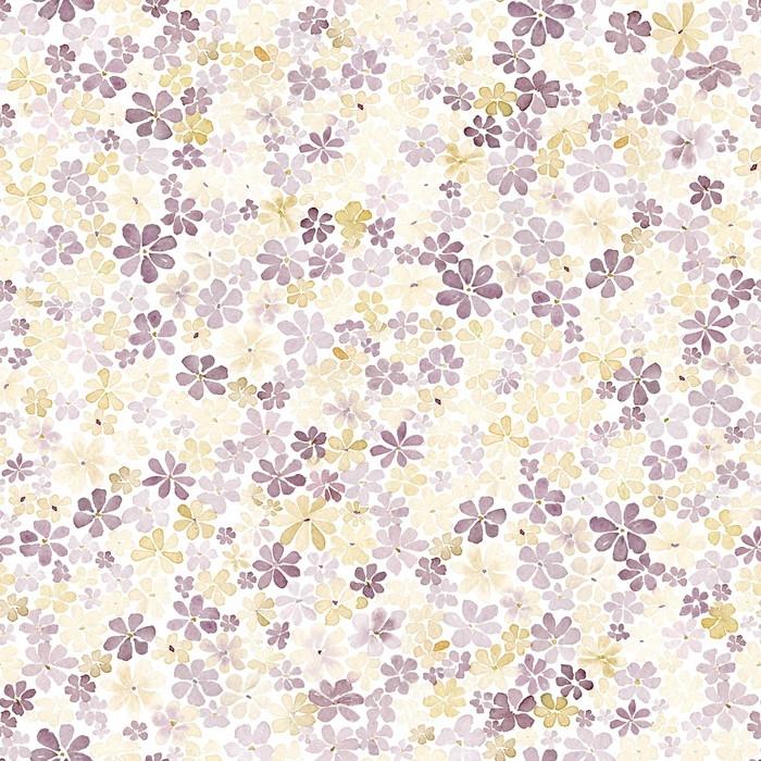 papier peint motifs mod le sans couture avec de petites fleurs brunes et jaunes la peinture. Black Bedroom Furniture Sets. Home Design Ideas