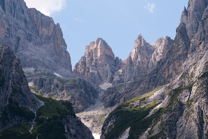 Vinylová Tapeta Dolomiti di Brenta dal rifugio Croz dell'Altissimo - Evropa