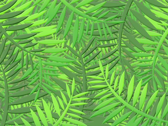 papier peint jungle tropicale avec des feuilles denses de v g tation pixers nous vivons. Black Bedroom Furniture Sets. Home Design Ideas