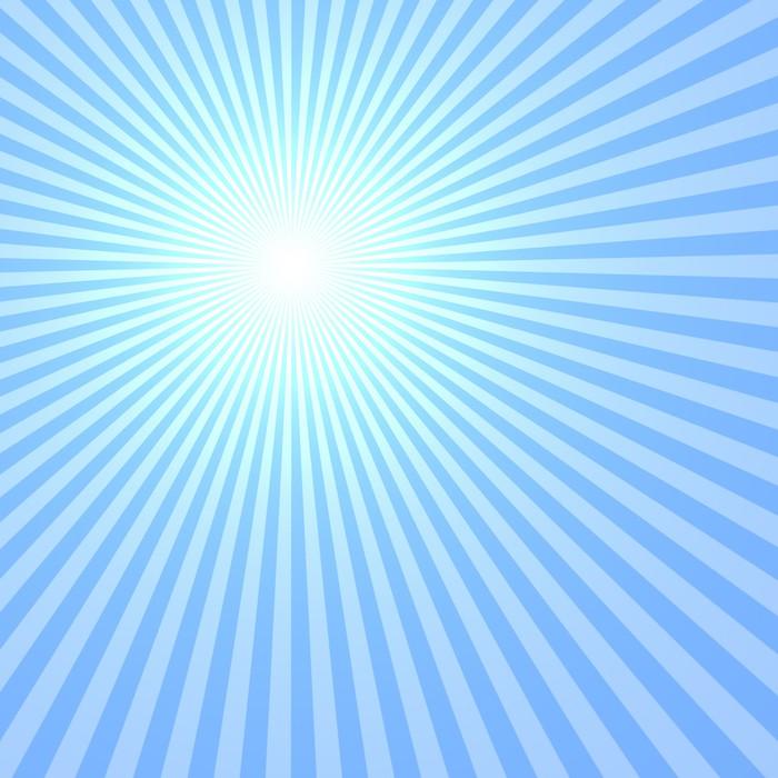 Vinylová Tapeta Blue Sun - Pozadí