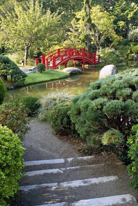 Papier peint all e d 39 un jardin japonais toulousain for Acheter jardin japonais