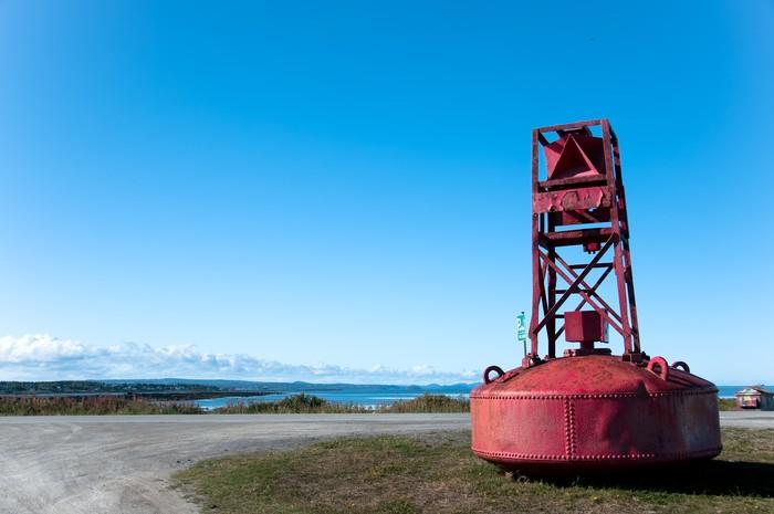 Vinylová Tapeta Červený útočiště pro ponorky v Quebecu zemi - Život