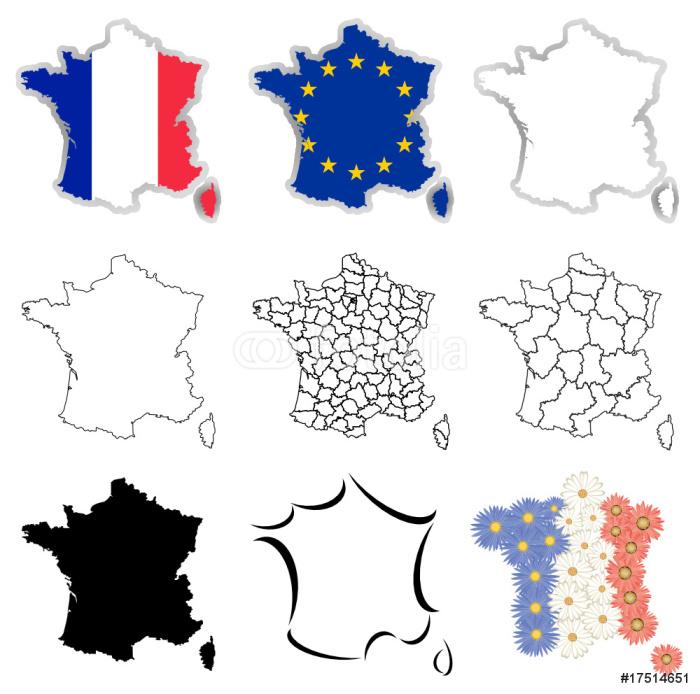 Vinylová Tapeta France - Evropská města