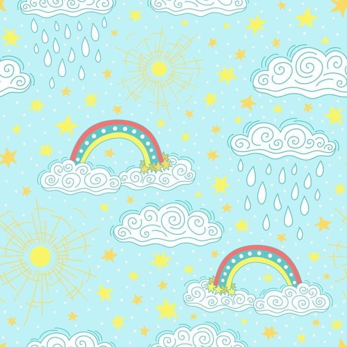 089e48f0 Fototapet Sømløs mønster for barn • Pixers® - Vi lever for forandring