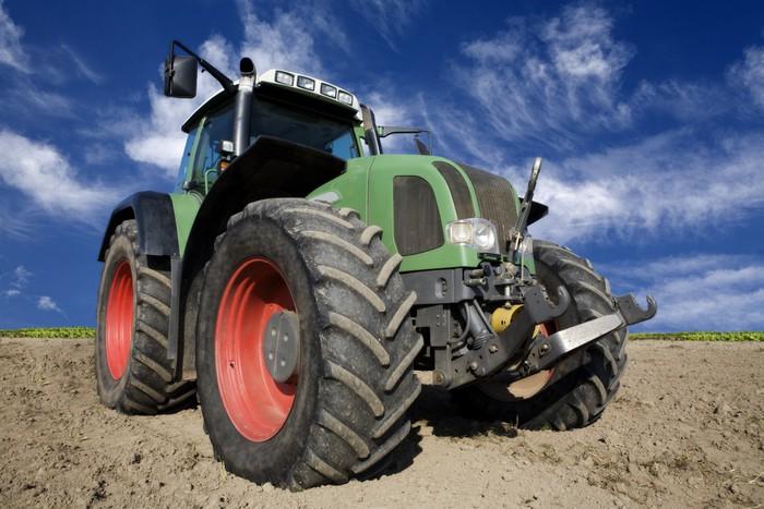 Vinylová Tapeta Traktor - Na cestě