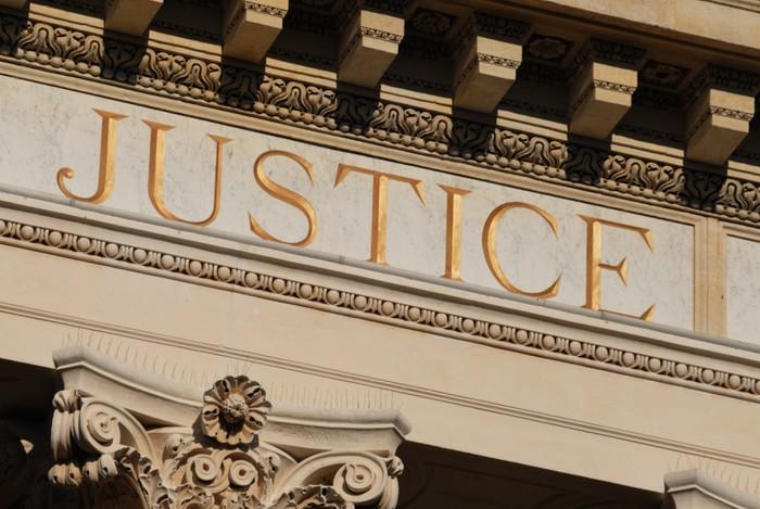 Tableau sur Toile La justice des hommes -