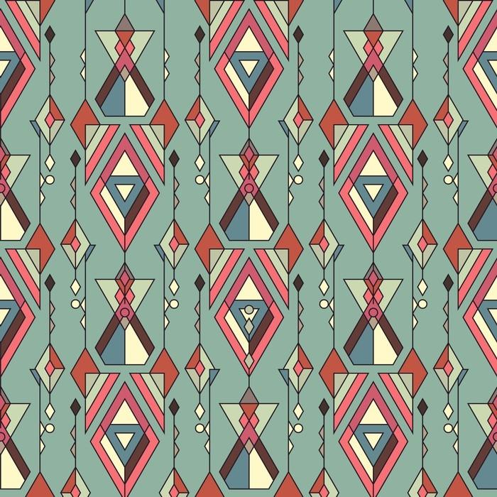 papier peint mod le sans couture ethnique tribal vintage. Black Bedroom Furniture Sets. Home Design Ideas