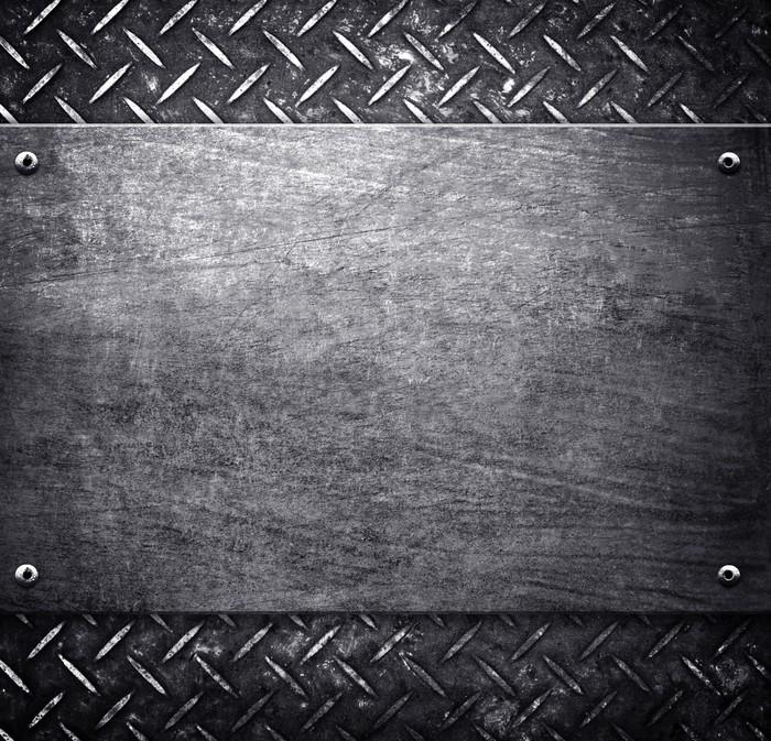 tableau sur toile motif de fond en m tal pixers nous. Black Bedroom Furniture Sets. Home Design Ideas