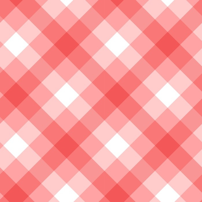 Pink Checker Pattern Seamless Vector Design SelfAdhesive Wall Mural Enchanting Checker Pattern
