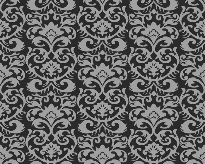 Behang Met Patroon : Fotobehang naadloze retro behang patroon u pixers we leven om