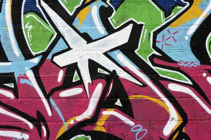 papier peint tag graffiti pixers nous vivons pour changer. Black Bedroom Furniture Sets. Home Design Ideas