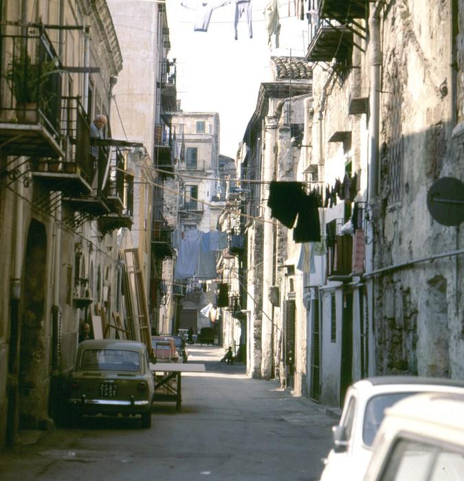 Vinylová Tapeta Palermo - Evropa