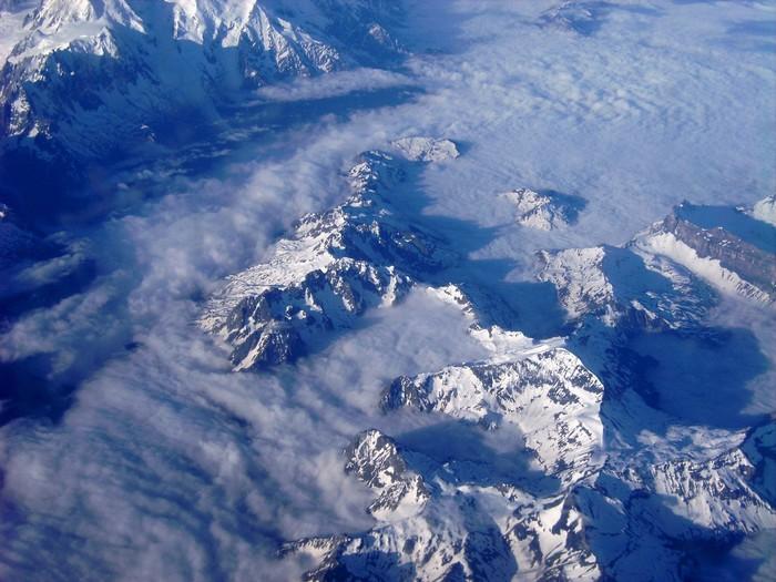 Vinylová Tapeta Alpy - Přírodní krásy