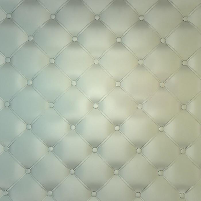 Papier peint sepia de luxe en cuir blanc boutonne o pixers for Kitchen cabinets lowes with poser papier peint