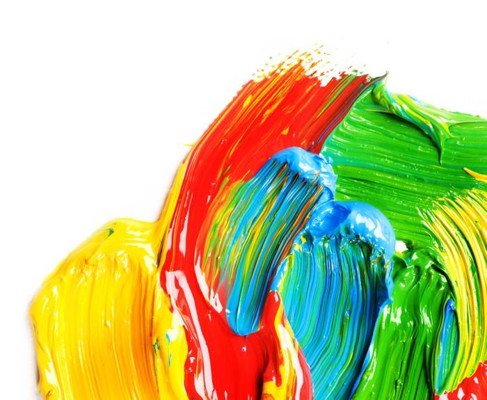 Paint Wall Mural - Vinyl - Art and Creation
