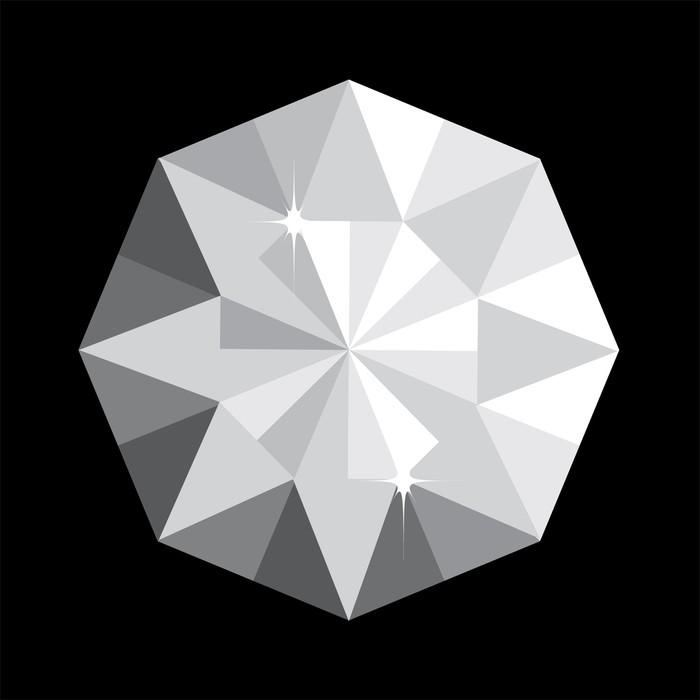 Vinylová Tapeta Diamond vektor - Páry