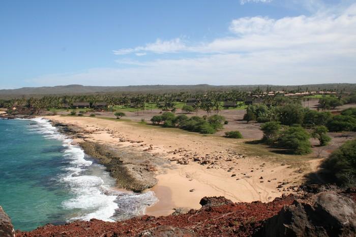Vinylová Tapeta Beach Resort na ostrově Molokai Havaj - Amerika