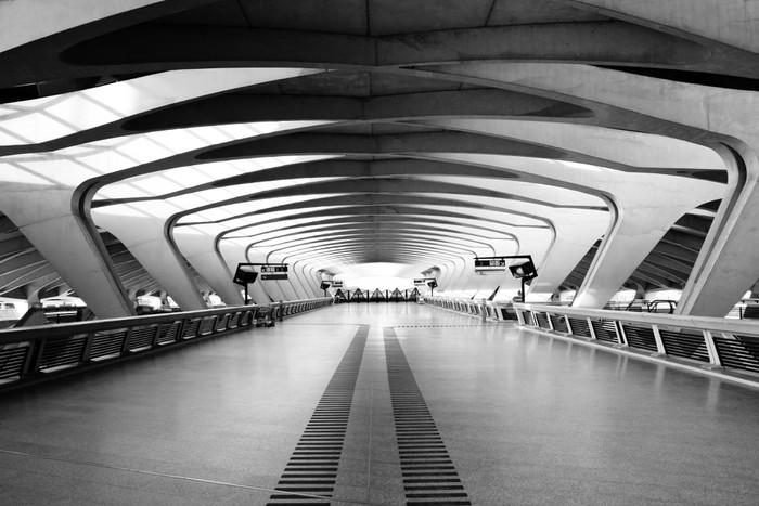 Long Passage Way - Modern Architecture