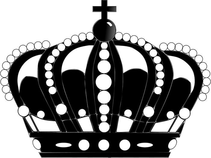 Sticker Corona Negro Pixers We Leven Om Te Veranderen