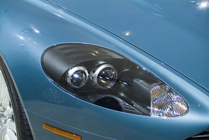 Aston Martin Headlight Wall Mural Pixers We Live To Change - Aston martin headlights