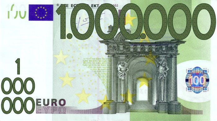 100000 euro million wall mural pixers we live to change. Black Bedroom Furniture Sets. Home Design Ideas