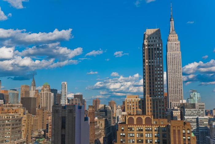 Vinylová Tapeta Manhattan Skyline, New York - Amerika